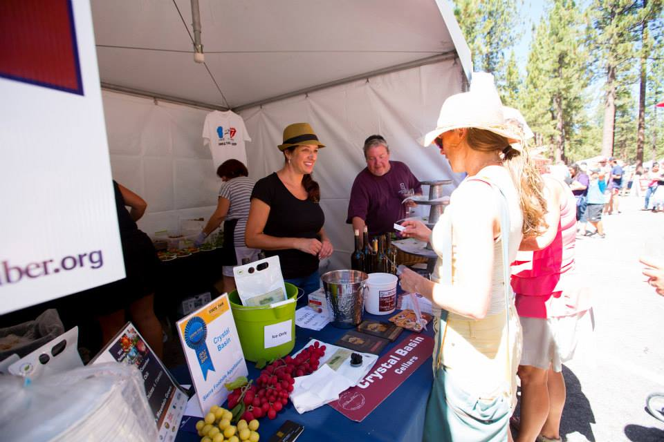 Festival Goers Learn More About Local Products