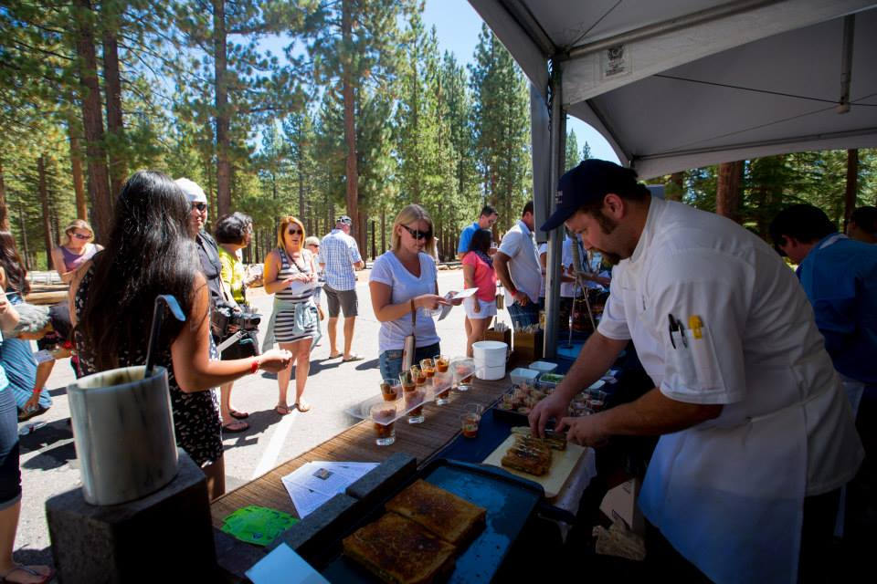 Freshly Prepared Food At Sample The Sierra