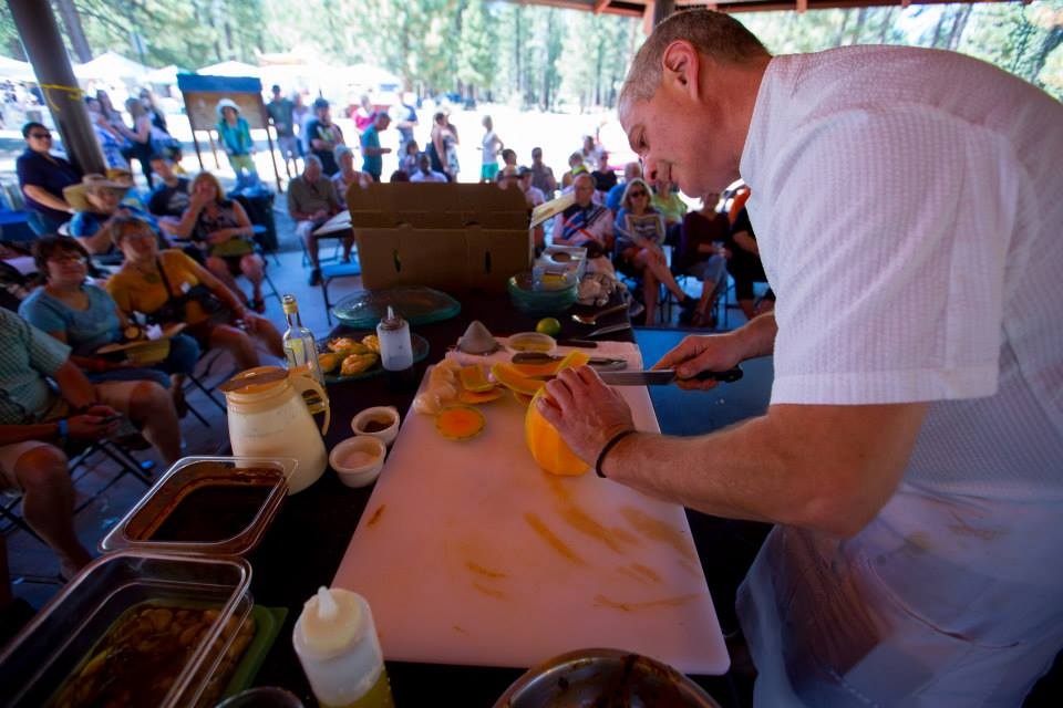 Careful Cutting At Sierra Chef Challenge