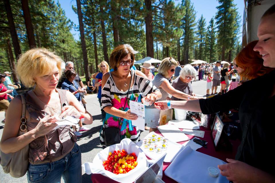 Experience Dozens Of Vendors At Sample The Sierra
