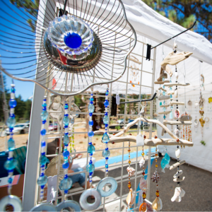 Beautiful handmade artwork at 2014 Sample the Sierra