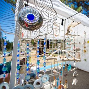 Beautiful handmade artwork at 2014 Sample the Sierra