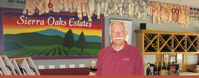 Sierra Oaks Estates - Winemaker Jim Brown - El Dorado County, CA