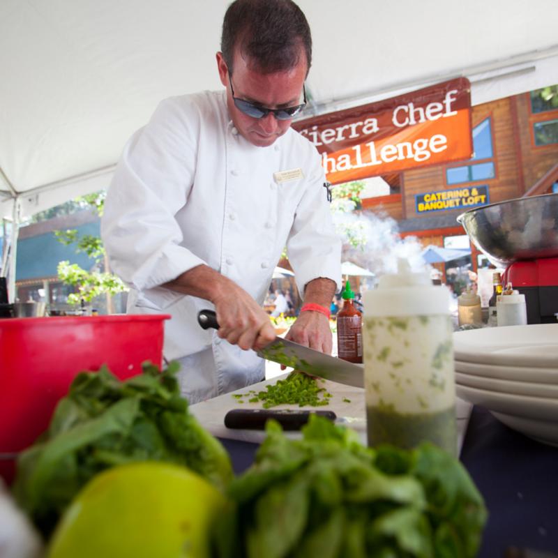 2014 Sierra Chef Challenge champion Peter Brinckerhoff