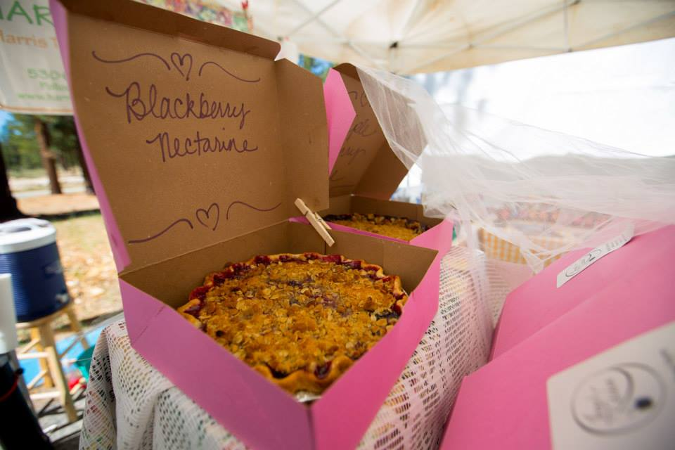Blackberry nectarine pie from Harris Tree Farm