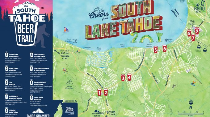 Travel The South Tahoe Beer Trail