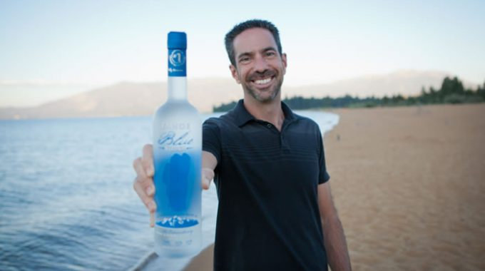It All Started With A Lake: Tahoe Blue Vodka