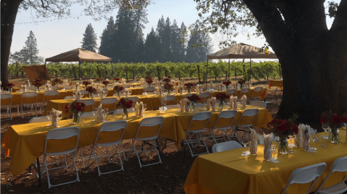 2019 Harvest Dinner At Madrona Winery